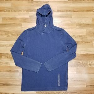 Vans Long Sleeve Hoodie Distressed Cotton